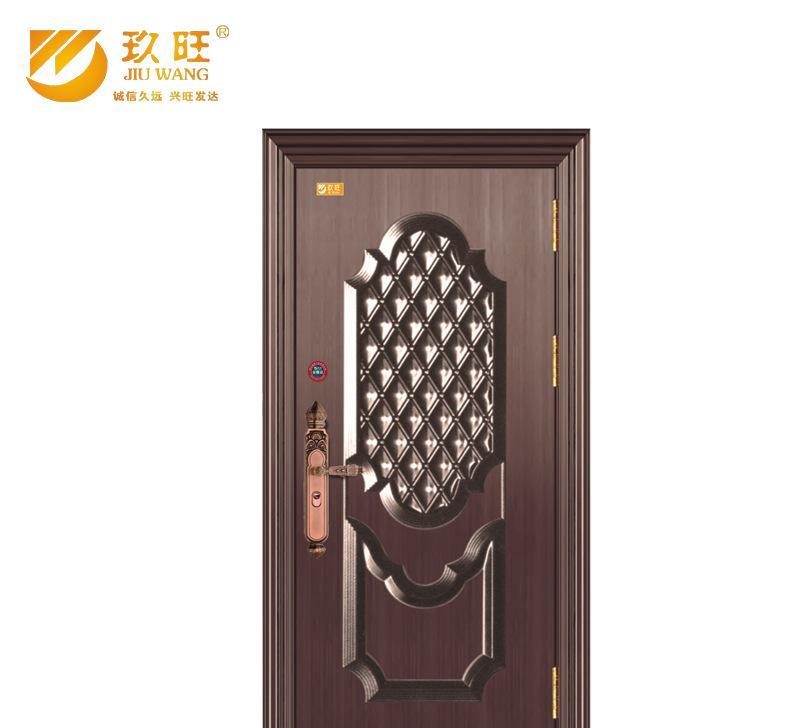 欧式金属门 不锈钢电房门 钢质防盗门 国标防盗门加工定制