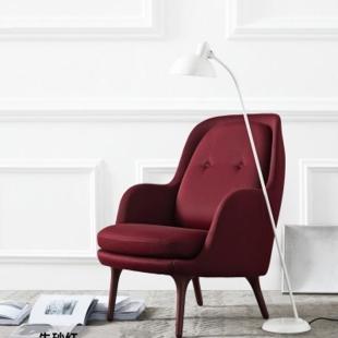 厂家定制一件批发北欧玻璃钢椅布艺休闲椅家用家具椅子伊姆斯躺椅图片