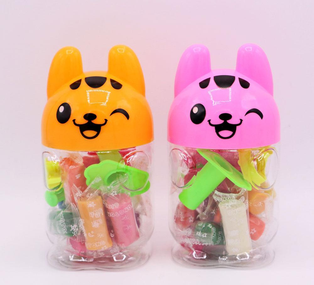 厂家批发香味 狐狸橡皮泥 桶装12色带模具安全无毒 儿童必备玩具