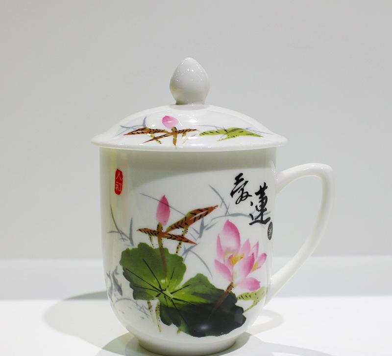 陶瓷杯子 创意水杯 新品马克杯定制logo图案