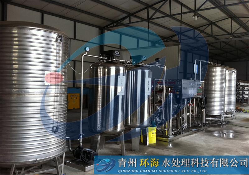 潍坊哪里有卖划算的3吨双级反渗透设备 山东纯净水设备