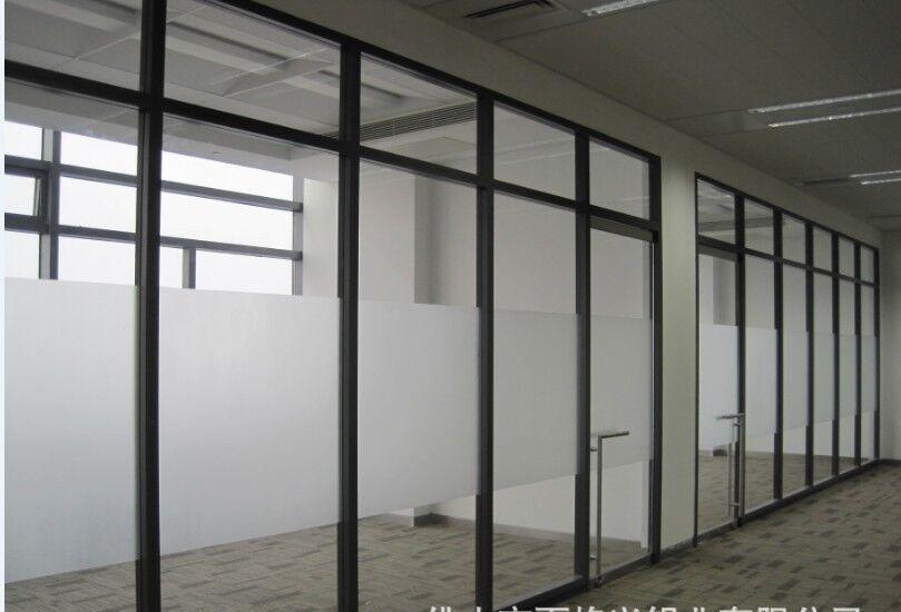 供应百叶隔断/玻璃隔断/双玻单玻隔断/办公室隔断厂家直销图片