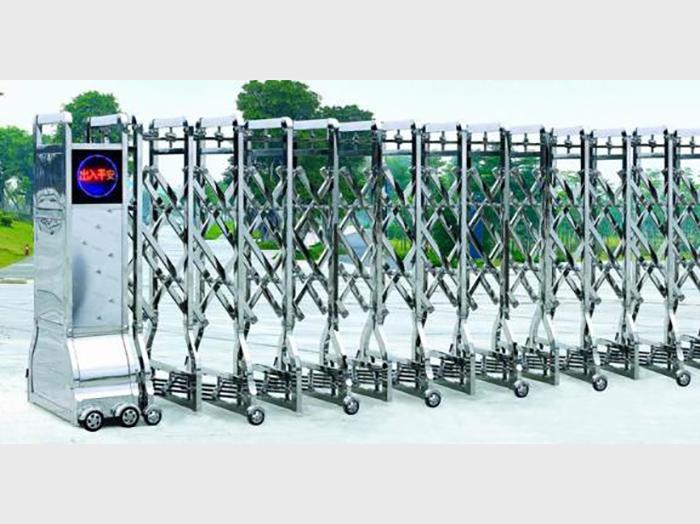 银川地区品质好的电动伸缩门 银川电动伸缩门
