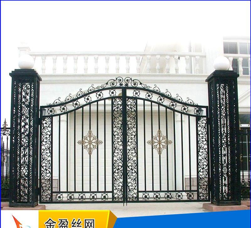 生产供应 上海铁艺护栏 高档欧式别墅铁艺护栏
