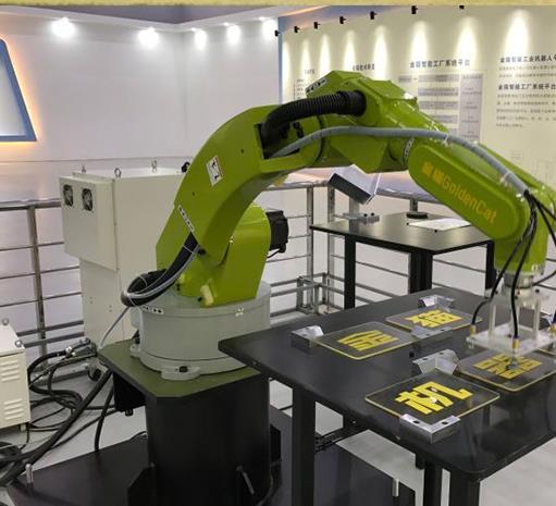 中世精工出细活,工业机器人有保障