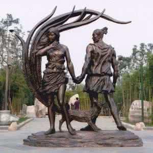 在哪能买到铸铜雕塑——陕西铸铜人物雕塑制作
