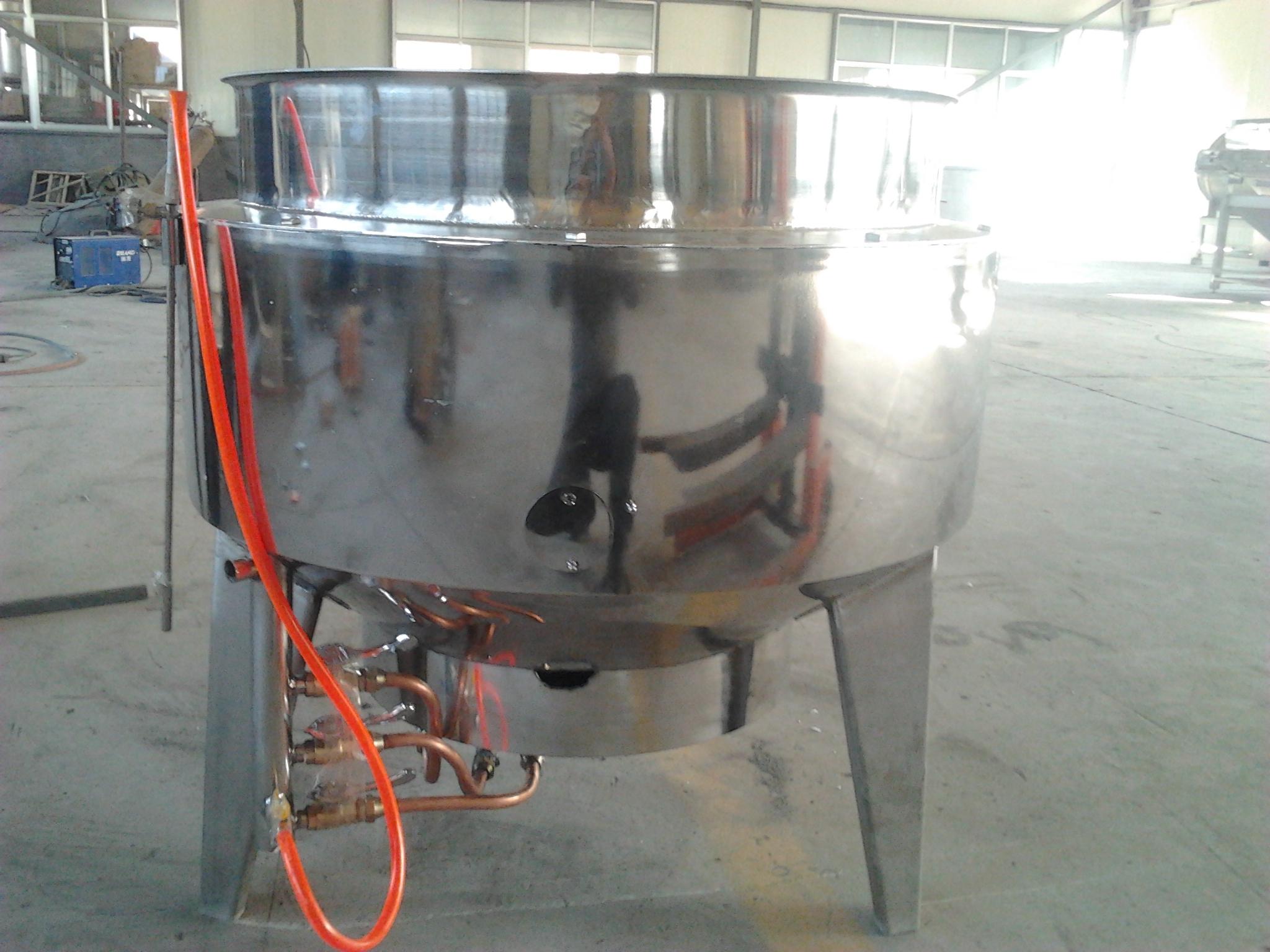 電加熱夾層鍋 可傾斜帶攪拌電炒鍋  蒸煮熬制鹵制底料炒制