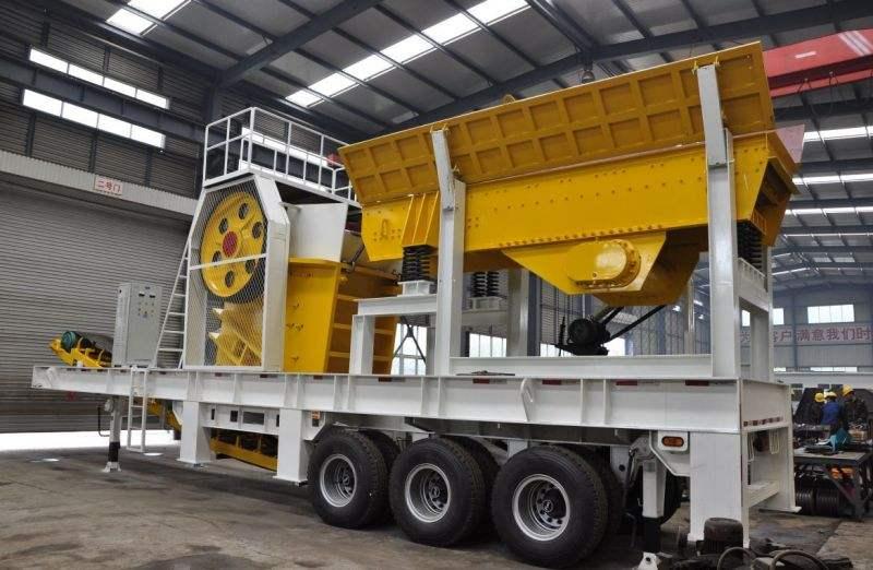 移动破碎制沙机_大量供应高质量的移动破碎机