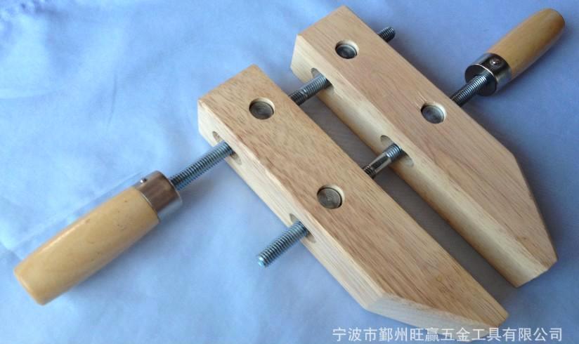 宁波旺赢 厂家直销手动木夹 优质供应商手动木夹