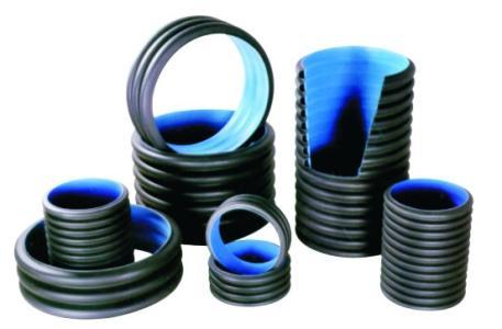 湖南预应力塑料波纹管优选明塑塑业科技——hdpe缠绕管b型管
