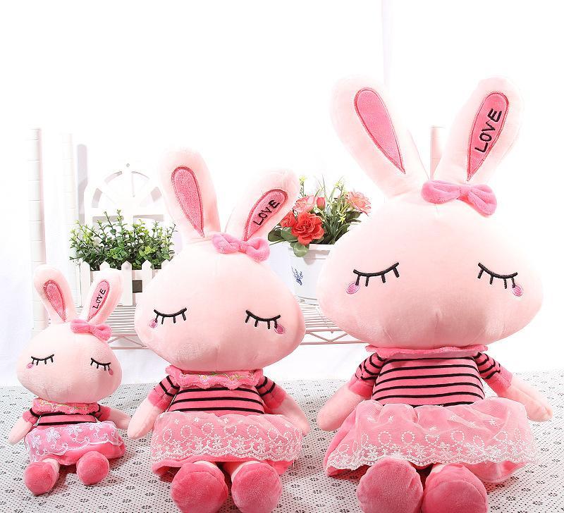 可爱公主兔流氓兔子毛绒玩具玩偶布娃娃公仔生日礼物女
