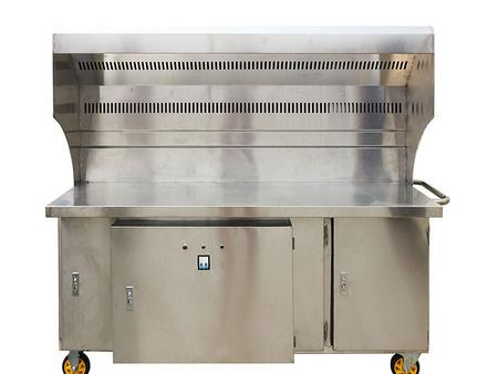 博兴无烟净化烧烤车 山东具有口碑的无烟净化烧烤炉供应
