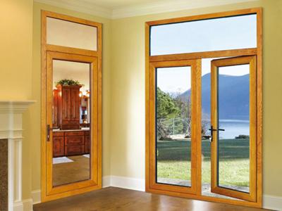 兰州华茂门窗品牌铝包木门窗供应商,临夏门窗