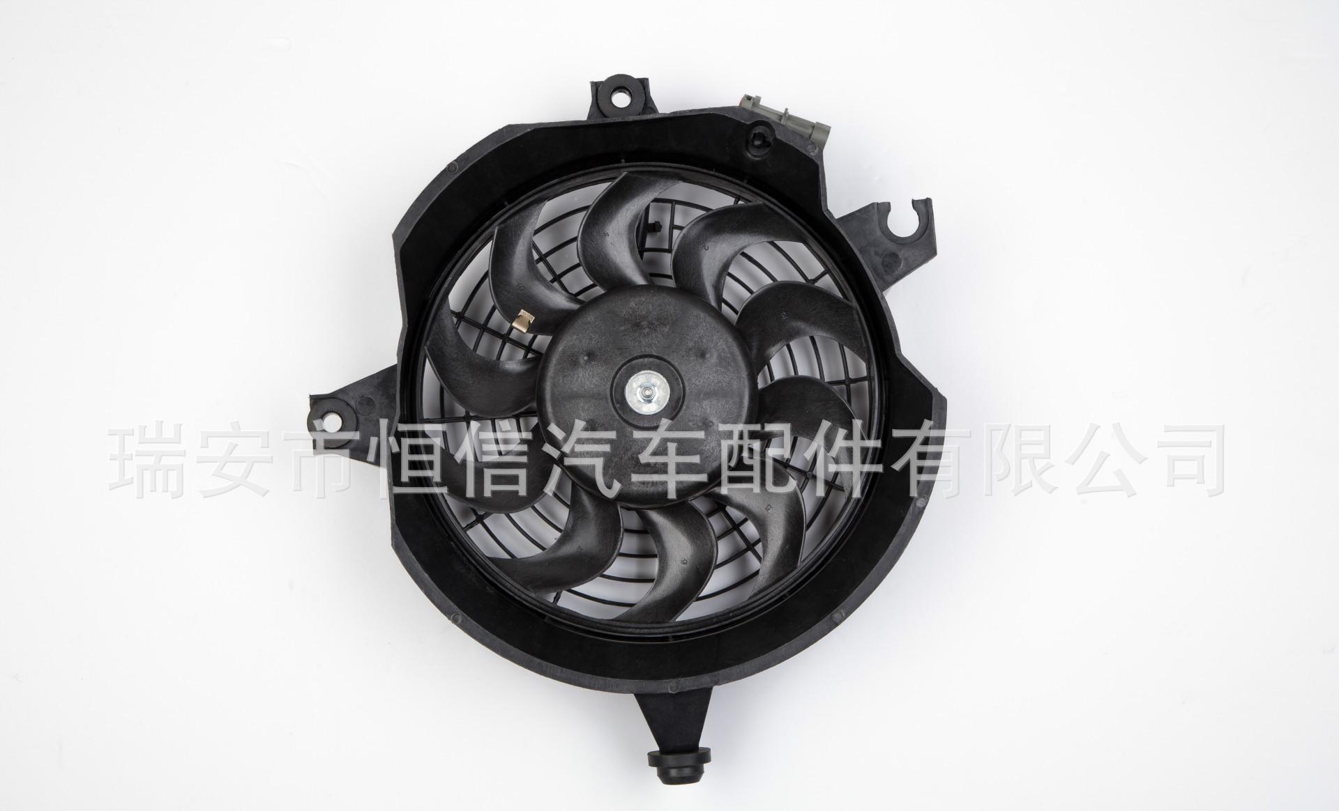 江淮同悦冷凝器电子扇汽车风扇电机散热器电子扇汽车水箱冷却风扇