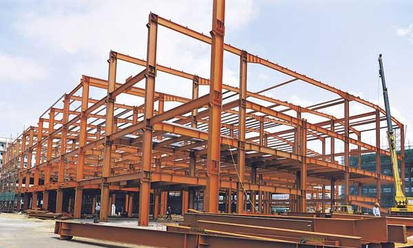 供销钢结构雨棚,力拓钢专业提供钢结构雨棚