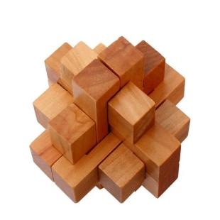 木制孔明锁 聪明娃益智系列 成人智力拼装