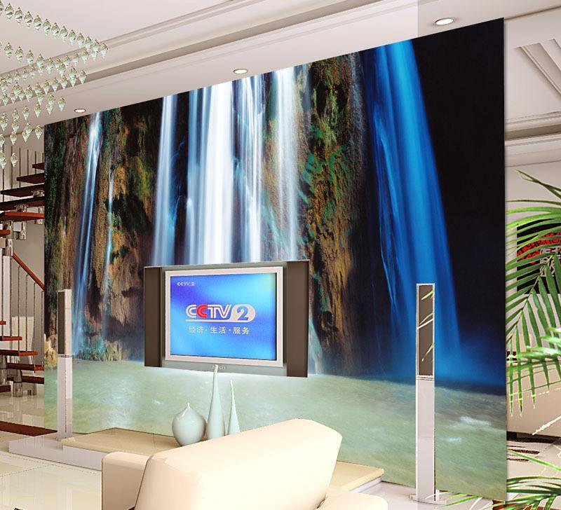 3d立体大型壁画壁纸海底世界 海洋鱼儿童房墙画电视背景墙墙纸