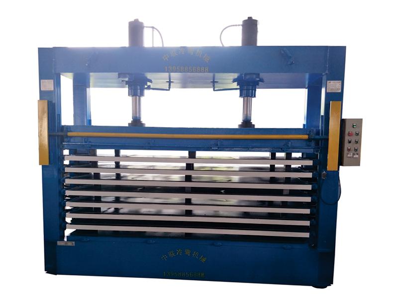 多层防盗门板热压胶合机专业供应商_热压胶合机厂家供应