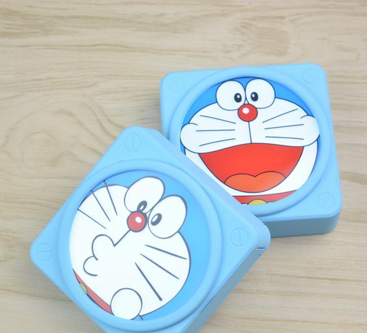可爱叮当猫哆啦a梦蓝胖子闪光充电宝卡通便携移动电源手机通用型