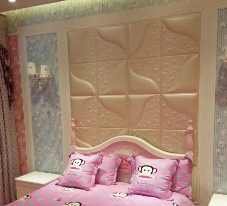 厂家定制 皮雕软包 背景墙客厅 电视墙卧室床头 欧式皮革软包
