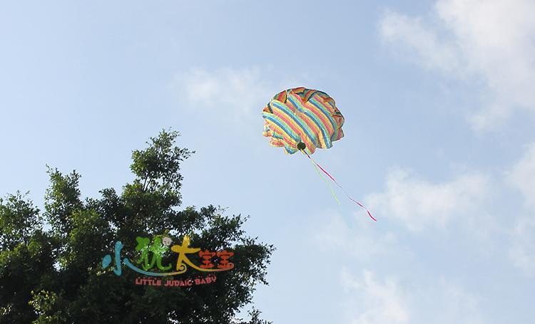 儿童玩具手抛降落伞儿童户外运动传统玩具幼儿园活动教具礼物