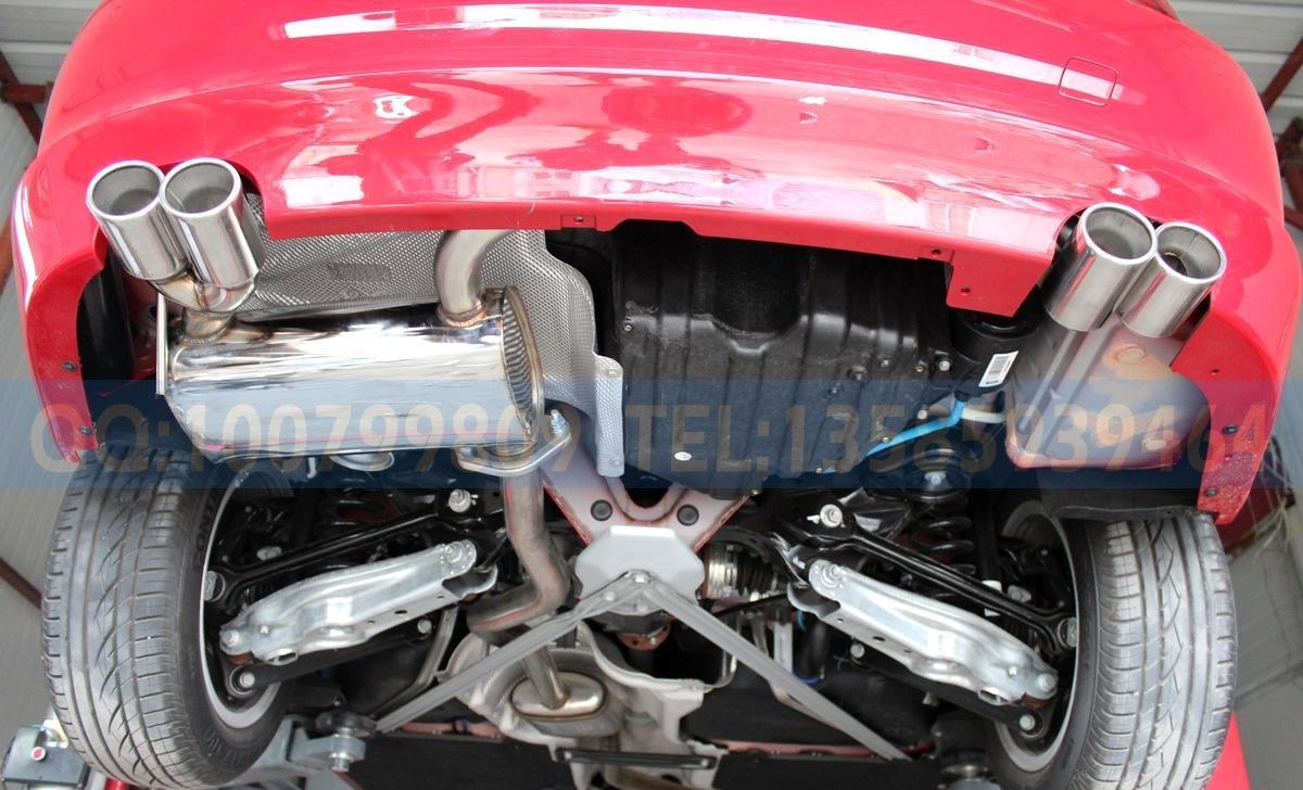 宝马1系120i改装 120敞篷款改装专用排气管 不锈钢 原装位 跑车音