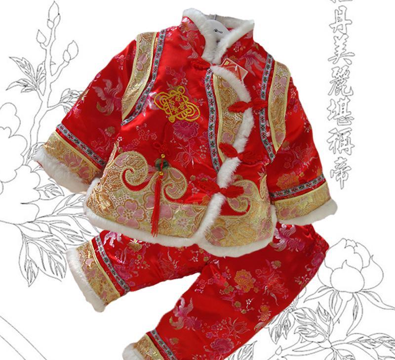 幼儿园大班中国风旗袍绘画