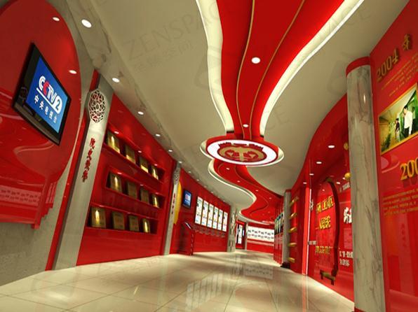展厅设计制作轻奢新体验|选武汉展览公司到至臻空间交易有保障