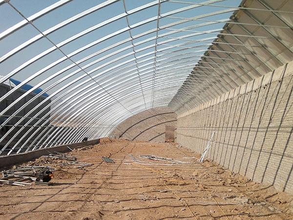 温室大棚骨架建造找瑞科温室,黑龙江温室大棚配件生产厂家