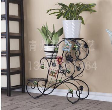 家庭铁艺花架,长期供应铁艺花架