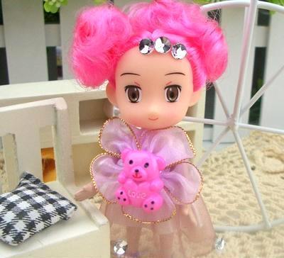 厂家批发4月新款小熊奇梦迷糊娃娃 包包挂件