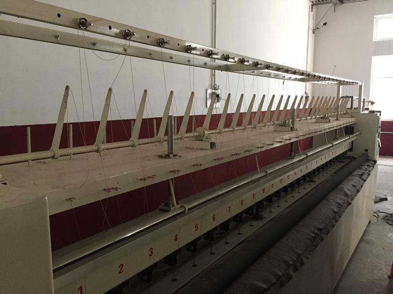 【厂家推荐】质量好的大棚棉被机销售 青县大棚棉被机厂