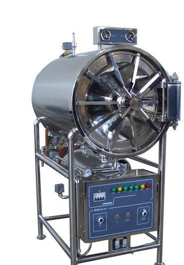 卧式蒸汽压力消毒设备 灭菌器厂家批发 全自动矩形灭菌锅 浙江办
