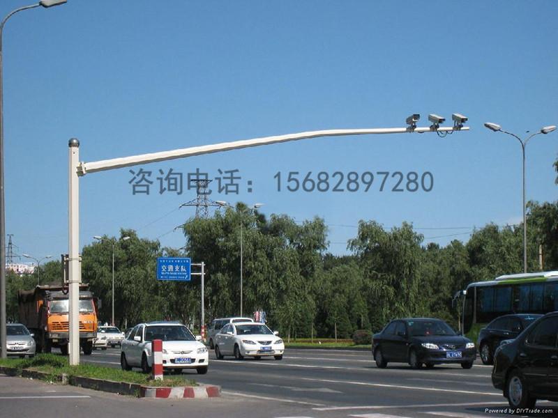 名声好的监控立杆供应商当属甘肃鲁星户外照明-巴音郭楞监控立杆