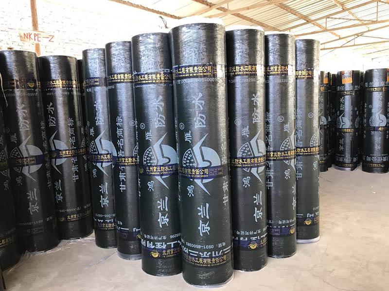 声誉好的甘肃防水卷材供应商当属兰州京兰防水,白银防水卷材批发
