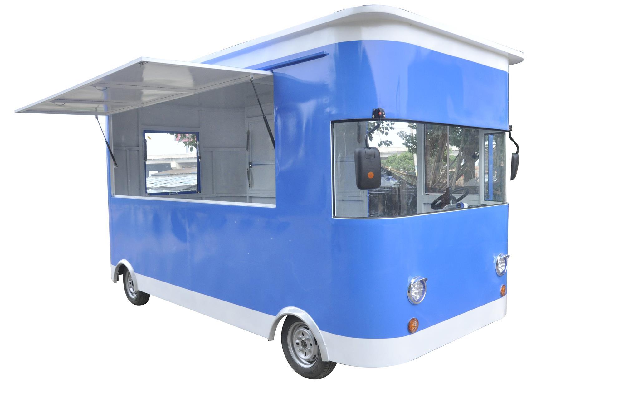 定制电动小吃车——金威源机械电动美食车怎么样