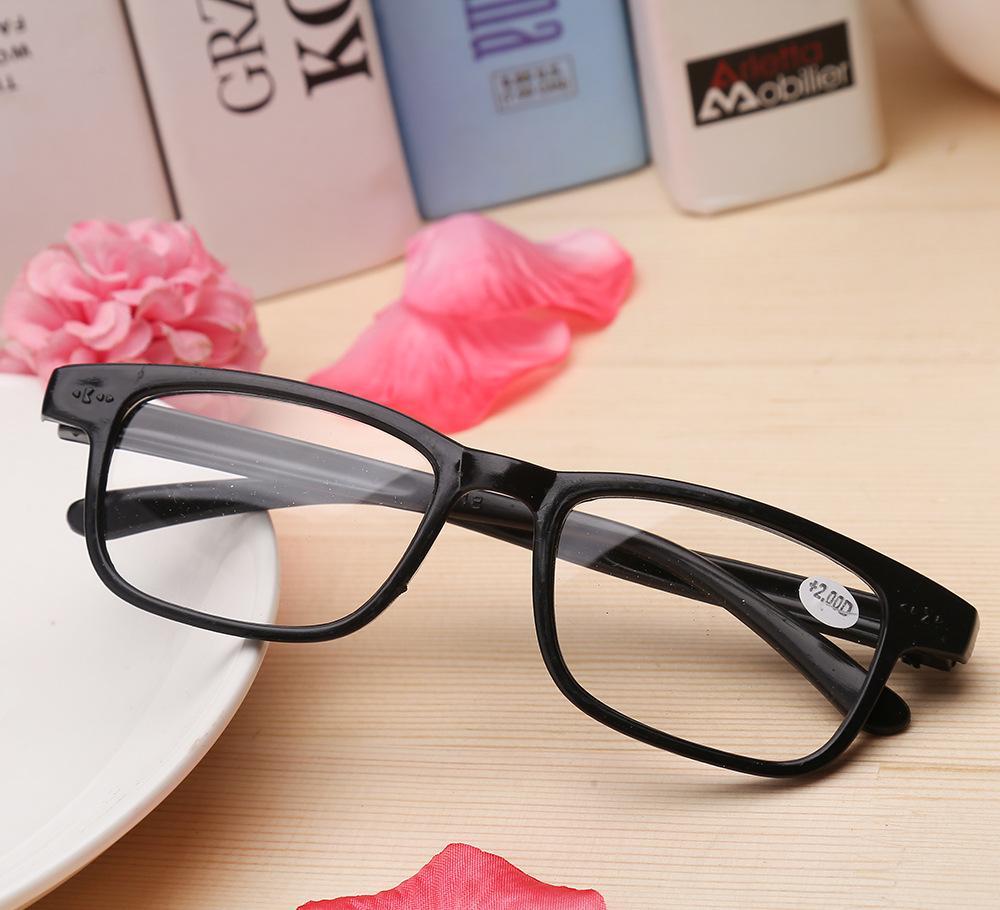 一元百货厂家直销 老花镜 塑料边框抗疲劳高档老花镜 老人眼镜