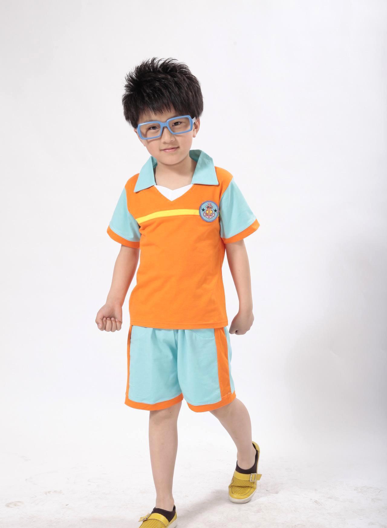 韩酷儿童装小学生校服班服套装夏季幼儿园园服批发夏装合唱运动服