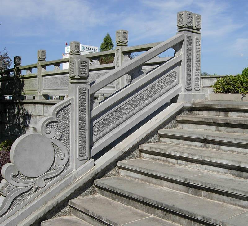 护河栏杆 景区石栏杆 石桥栏杆 桥梁石雕石栏杆