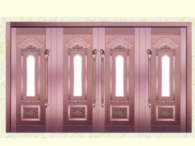 甘肃赛安思建筑装饰品牌铜门供应商——甘肃铜门