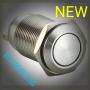 凯昆KACON金属按钮T16-211P 平钮自复位型