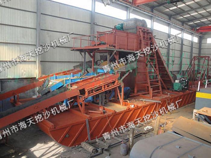 小型河道淘金设备价格,专业的淘金设备供应商_海天挖沙机械