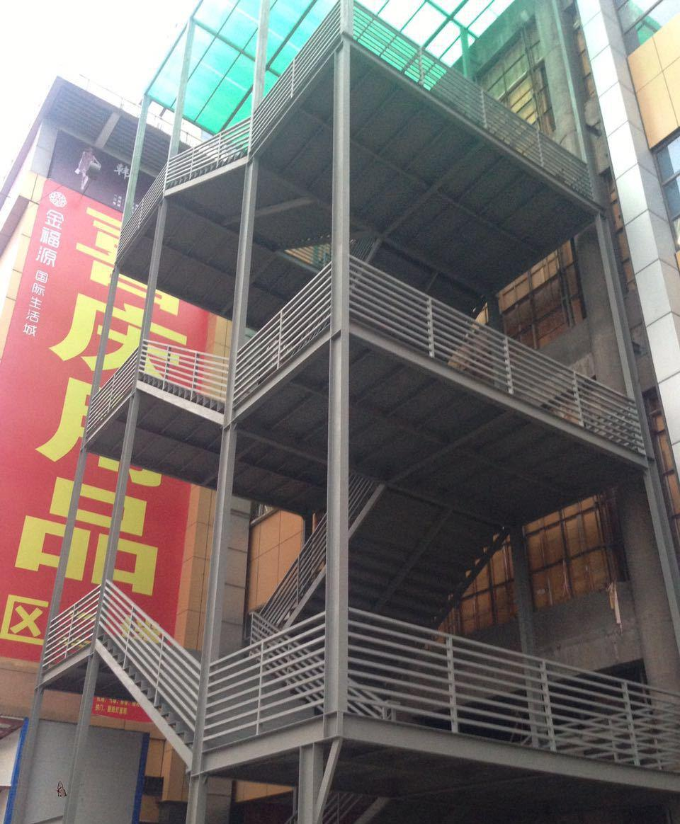 厂家直销 消防楼梯 钢楼梯 室外楼梯 钢结构楼梯
