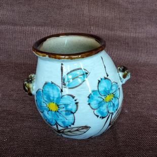 景德镇手绘卡通多肉花盆 创意韩国多肉植物花盆 陶瓷摆件陶瓷园艺