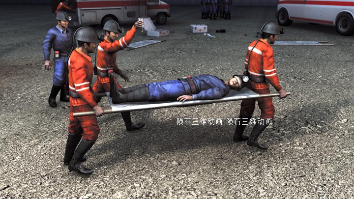 供应新款工业3D动画 受欢迎的消防安全动画批发