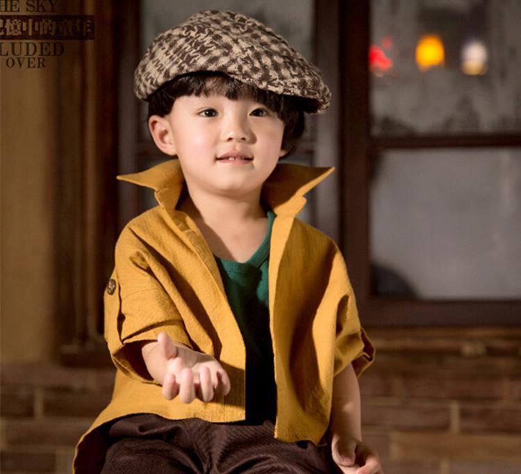 韩版新款影楼儿童主题摄影服装3-4岁男女孩时尚艺术写真拍照衣服