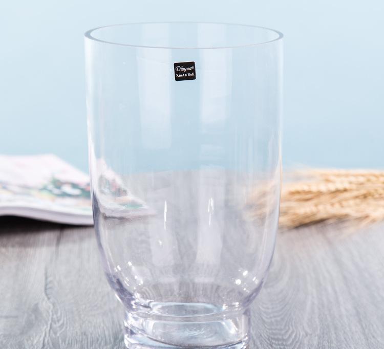 欧式时尚玻璃瓶创意鱼缸水培透明玻璃花瓶厂家批发