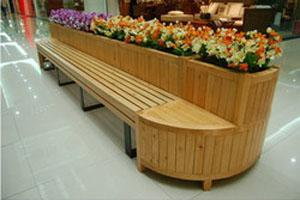 滨州木质花盆,供应山东口碑好的木质花盆