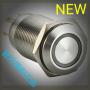凯昆KACON金属按钮T16-371DP平钮点状灯自锁型