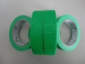 PET绿色高温喷涂胶带 耐高温绿色胶带